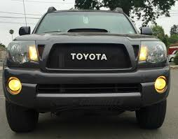 nissan tacoma 2005 11 toyota tacoma mesh grill insert by customcargrills