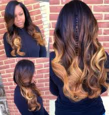 50 best eye catching long hairstyles for black women ombre weave