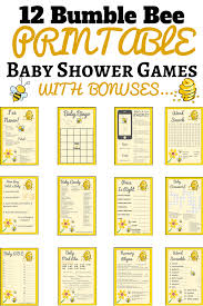 bumble bee baby shower theme 14 spectacular bumble bee baby shower ideas print my baby shower