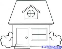 house to draw how to draw a house easy drawing step by step tutorials for kids