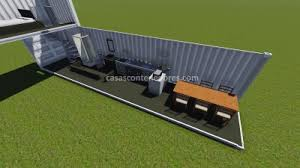 40 m2 to square feet design house with 3 40 feet containersshipping container home