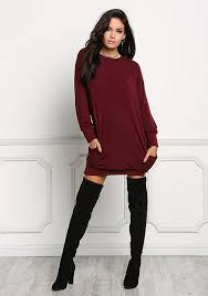 maroon sweater dress junior clothing burgundy pullover sweater dress loveculture com