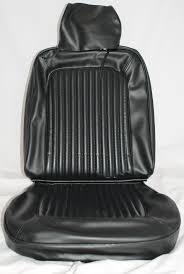 Black 69 Mustang 1969 Mustang Standard Bucket Upholstery
