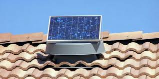 stay cool and save with a solar attic fan