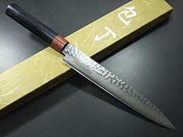 forged japanese kitchen knives amazon com seto japanese chef knives damascus forged steel from