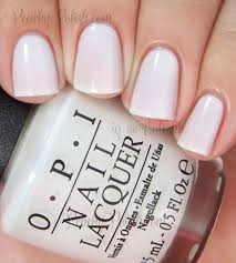 opi funny bunny the perfect opaque white polish without being
