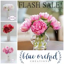 Peonies For Sale Flash Sale Silk Peony Arrangement Limited Time Offer You
