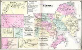 Map Of Newport Ri Rhode Island 1870 Beers Atlas