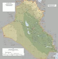 Map Iraq Map Of Iraq Detailed