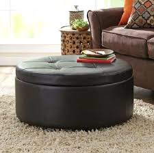 Leather Top Ottoman Leather Coffee Table Lovable Ottoman Coffee Table