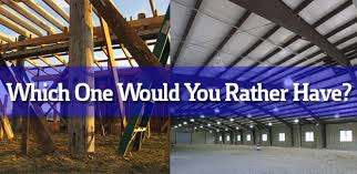 Steel Pole Barn Steel Building Or Pole Barn Which One Should You Choose