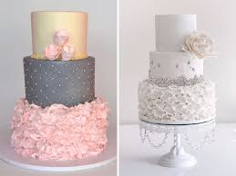 wedding cakes 2016 stunning wedding cakes trending this summer