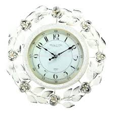 wall clocks extra large ivory wall clock ajanta ivory square