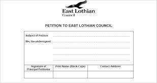 free petition template word pdf document creativetemplate