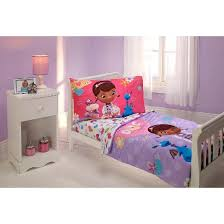 Mickey Mouse Toddler Duvet Set Disney Doc Mcstuffins 4 Piece Bedding Set Toddler Target