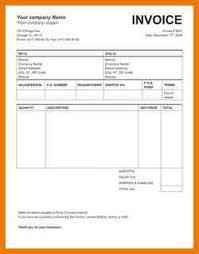 7 invoice sample doc postal carrier