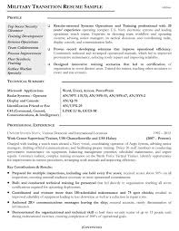 Best Resume Helper by Military Resume Examples And Samples Resume For Your Job Application