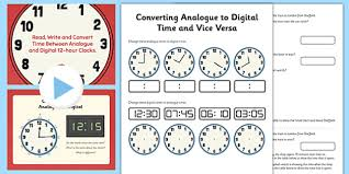 measurement read write and convert time between page 1