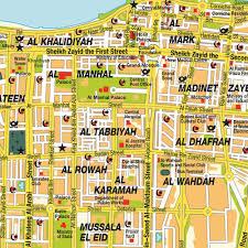 map of abu dabi map abu dhabi city united arab emirates maps and directions at