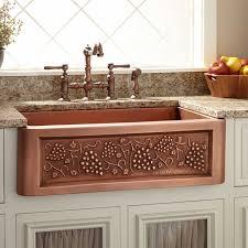 Deep Copper Farmhouse Sink Best Sink Decoration - Tuscan kitchen sinks