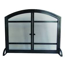 Fireplace Metal Screen by Pleasant Hearth Fireplace Screens Fireplaces The Home Depot
