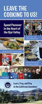 passover program c ramah in california a journey for a lifetime