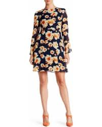 get the deal 61 off betsey johnson printed chiffon dress at