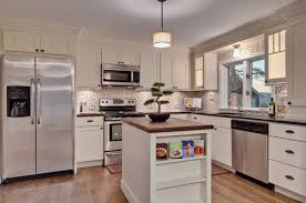 efficient kitchen design traditional shaker cabinets