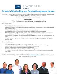 valet parking attendant towne park job u0026 career news from the