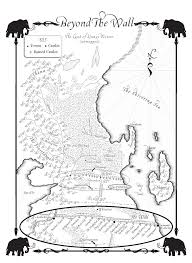 Map Westeros A Dance With Dragons Map Of Beyond The Wall A Wiki Of Ice And Fire