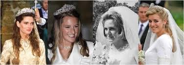 karen spencer countess spencer the royal order of sartorial splendor wedding wednesday brides