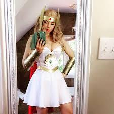 Shera Halloween Costume Ludella Hahn Good Morning Ra Selfie Debuting