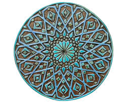 moroccan wall decor made from ceramic exterior wall art