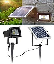 Security Flood Lights Outdoor by Lte 60 Led Solar Lights Outdoor Security Floodlight 300 Lumen