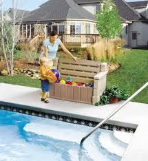 Outside Storage Bench Amazon Com Step2 Outdoor Storage Bench Durable Garden Deck Seat