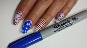 sharpie nail art google