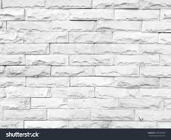 home design white brick textured wallpaper shabbychic style
