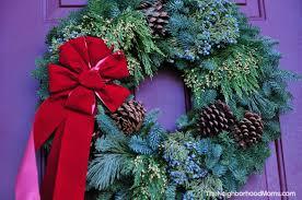 live christmas wreaths live christmas wreath giveaway the neighborhood