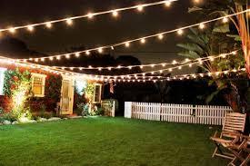 Outdoor Backyard Lighting Ideas Backyard Lighting Ideas Gardening Design