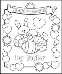 easter basket coloring twisty noodle coloring pages