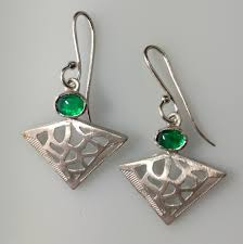 danglers earrings design made in india gemstone jewellery earring dangler 925 sterling