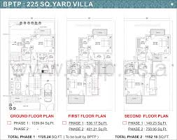 floor plan lay out bptp parkland villas faridabad floor plans bptp villa floor maps
