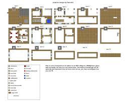 large house blueprints minecraft small house blueprints images best house design