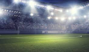 how tall are football stadium lights football stadium in lights mixed media stock photo image of