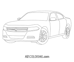 dodge charger police car stunning dodge charger coloring pages