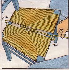 assise de chaise en paille bleu extérieur designs à rempailler une chaise barunsonenter com
