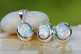 opal october october birthstone opal earrings stud earrings opal stud opal