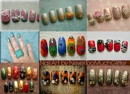 nail art samples from late june 2013 nevertoomuchglitter nail