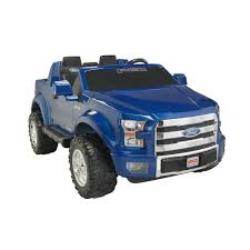 ford electric truck power wheels ford f 150 12 volt battery powered ride on walmart com