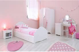 chambre fille blanche chambre à coucher fille chic novomeuble